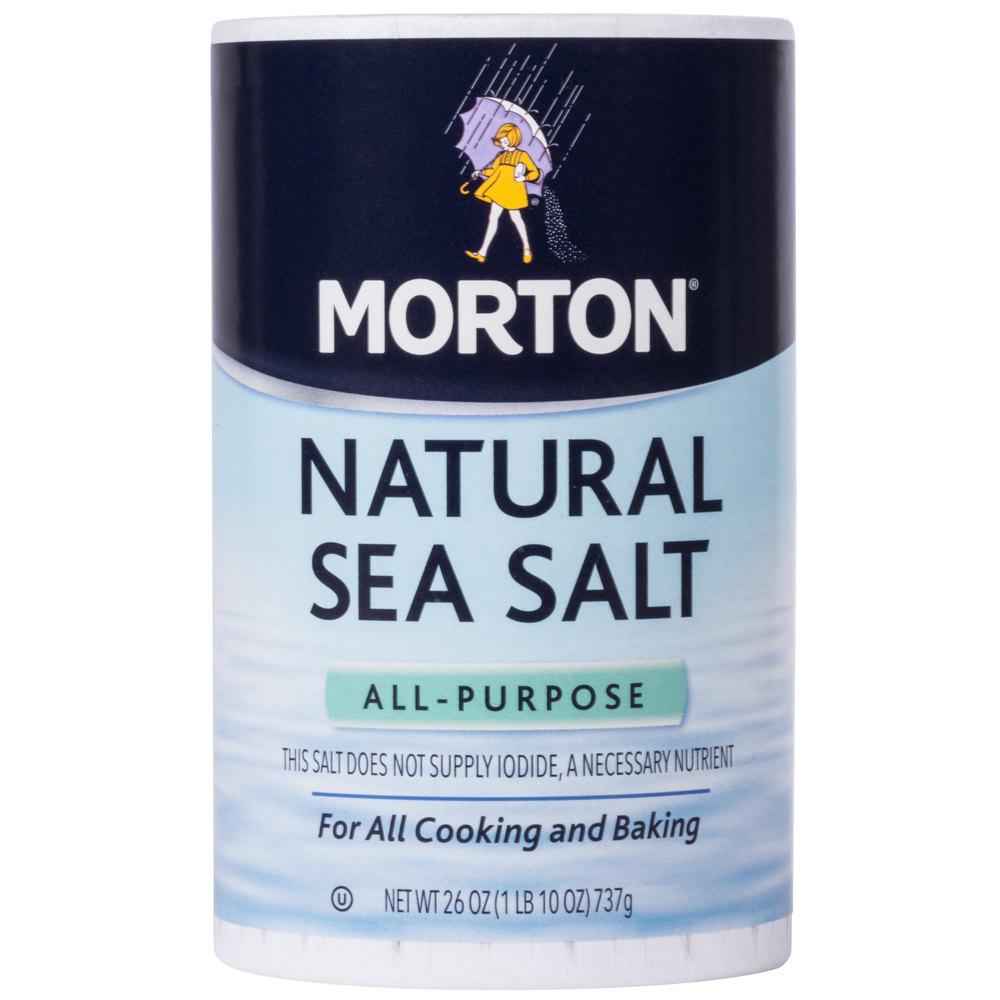 Morton 26 oz AllPurpose Natural Sea Salt