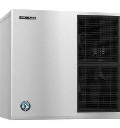 hoshizaki kmd 850mah modular 30 air cooled crescent cube ice machine 786 lb  [ 1000 x 1000 Pixel ]