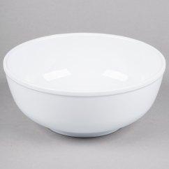 White Kitchen Buffet Cabinets Naples Fl Thunder Group Ph5010tw 88 Oz. Melamine Pho Noodle ...