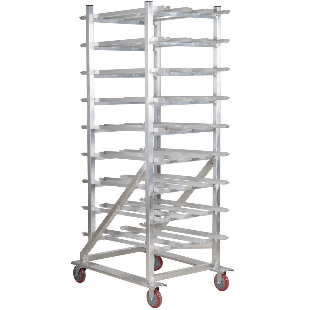 Winholt CR-162M Full Size Aluminum Mobile #10 and #5 Can Rack