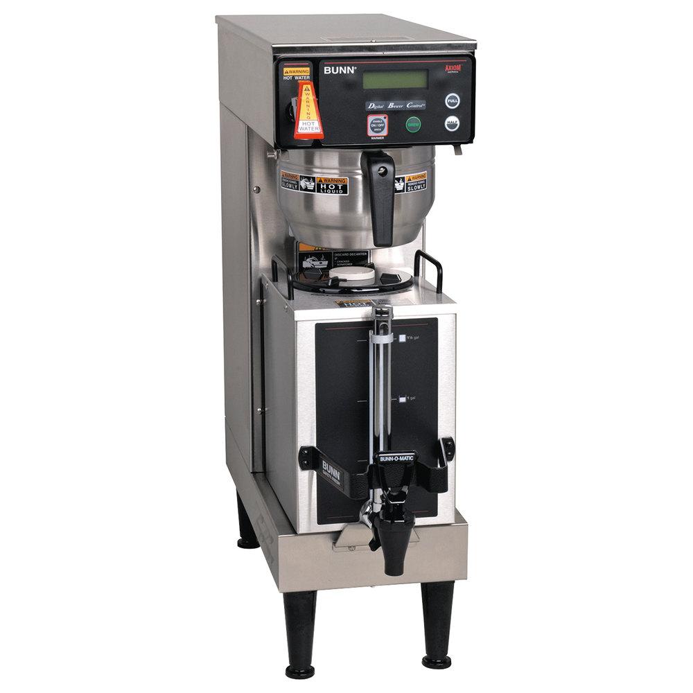 medium resolution of bunn 38700 0045 axiom single 1 gallon coffee brewer with portable server 120 208