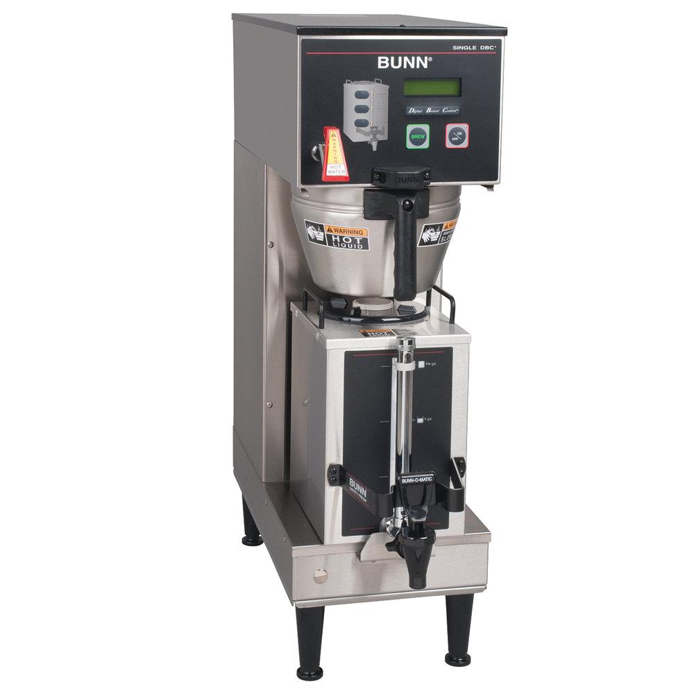 medium resolution of bunn 36100 0010 brewwise gpr dbc 12 5 gallon single coffee brewer 120v 1800w