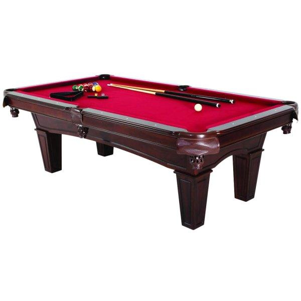 Minnesota Fats Mft901-tbl Fullerton 7 1 2' Billiard Pool Table With Accessories