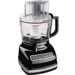 Kitchen Aid Toasters Slim Trash Can Kitchenaid Kfp1133ob Onyx Black 11 Cup Food Processor With ...