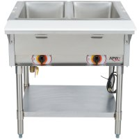240V APW Wyott SST2S Stationary Steam Table - Two Pan ...