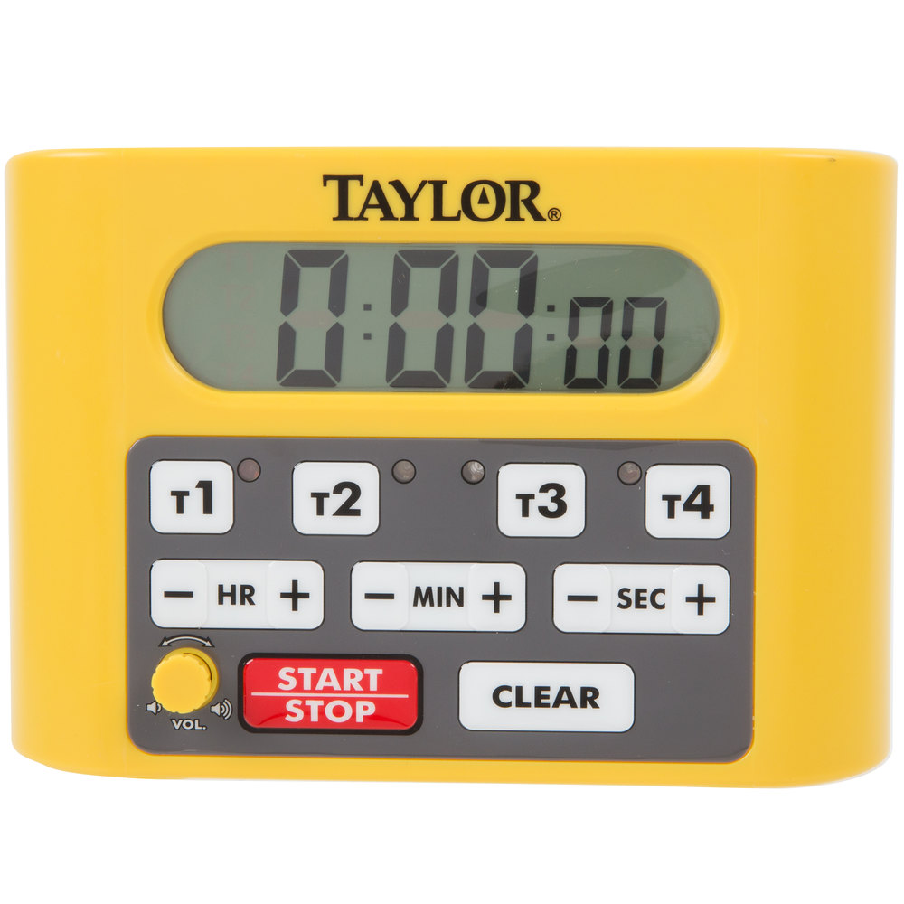taylor kitchen timer china pack 5839n digital 4 channel commercial