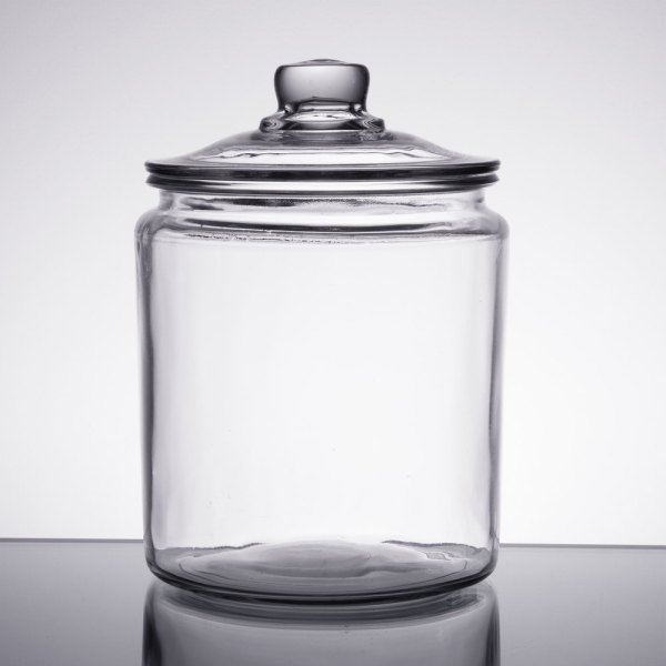 Anchor Hocking 85545r 1 2 Gallon Glass Jar With Lid