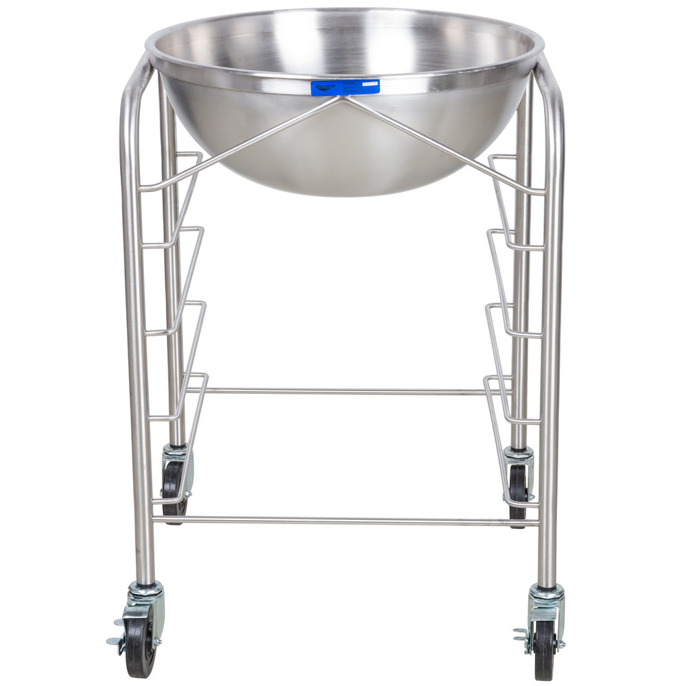 Vollrath 79302 Stainless Steel Mobile Mixing Bowl Stand