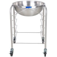 Vollrath 79302 Stainless Steel Mobile Mixing Bowl Stand ...
