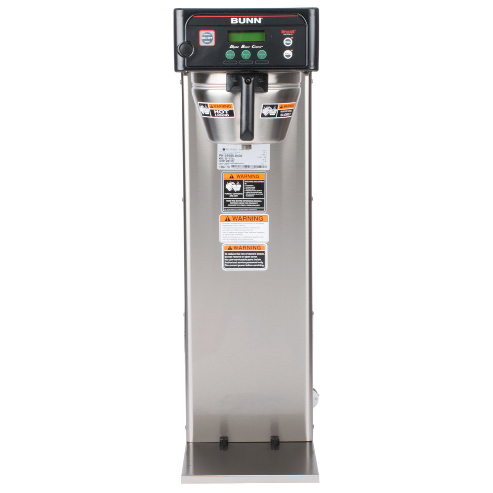 medium resolution of bunn 36600 0005 brewwise icb dv stainless steel infusion tall coffee brewer dual voltage