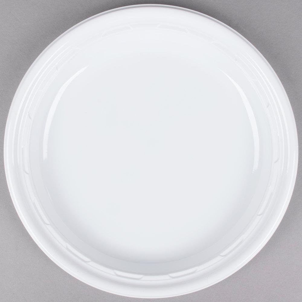 "Dart Solo 9PWF 9"" White Famous Service Impact Plastic"