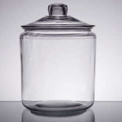 Large Kitchen Sinks Countertop Choices Anchor Hocking 69349t 1 Glass Gallon Jar With Cover