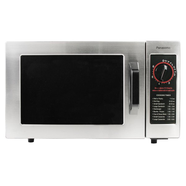 Panasonic Ne-1022f Stainless Steel Commercial Microwave