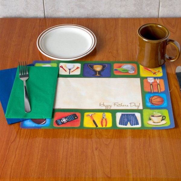 Printed Holiday Thanksgiving Christmas Themes Placemat