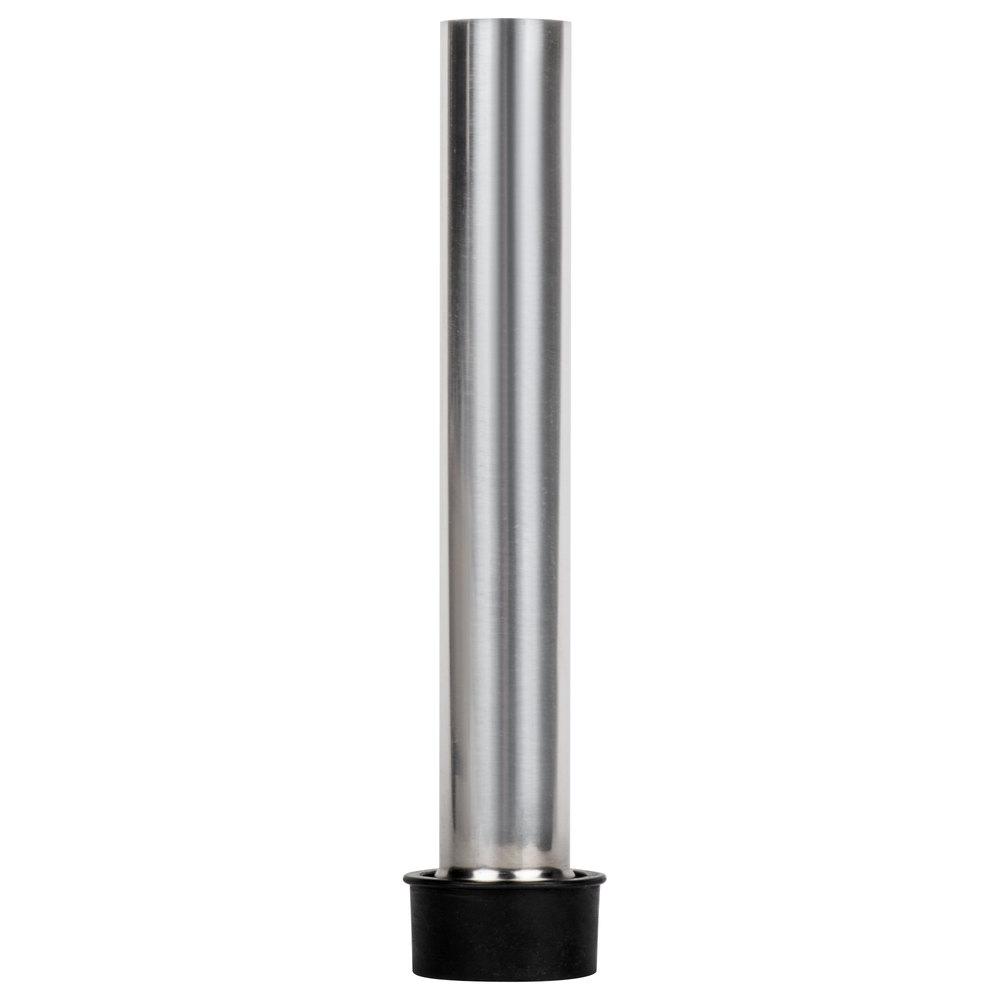 "Regency 8"" Stainless Steel Overflow Pipe for 1 1/2"" Drains"