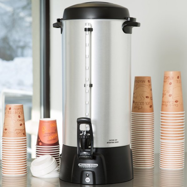 100 Cup Coffee Maker Proctor Silex 45100 Urn