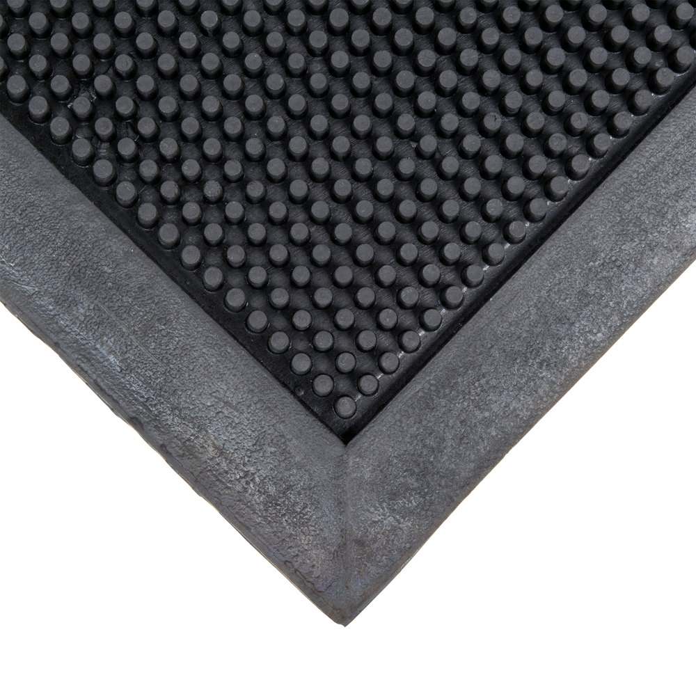 Cactus Mat 35 3672 Finger Top 36 X 72 Black Anti Fatigue