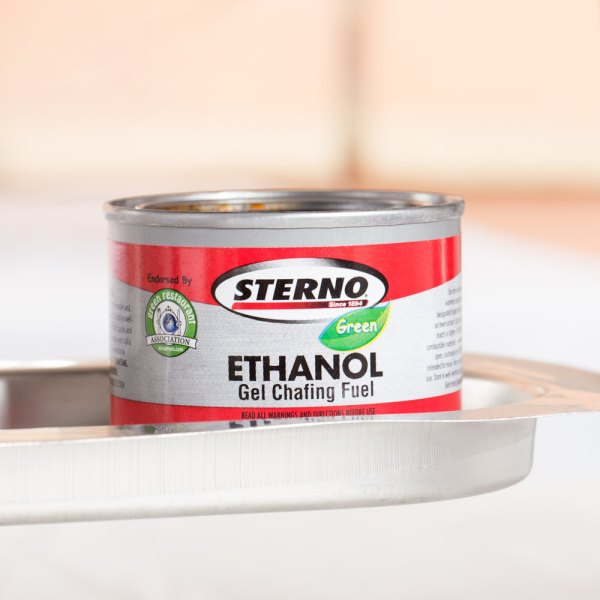 Sterno Products 20106 45 Minute Gel Chafing Dish Fuel Canister - 144 Case
