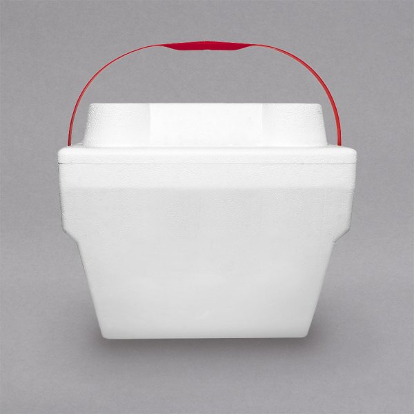 Large Foam Cooler With Handle - 14 1 2