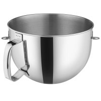 KitchenAid KN2B6PEH Polished Stainless Steel 6 Qt. Mixing ...