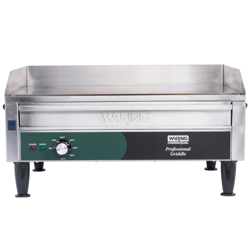 Waring WGR240 Electric Countertop Griddle 28 240V