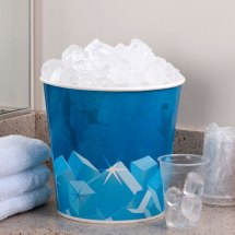 Lavex Lodging 10 Lb. Disposable Paper Ice Bucket - 150 Case