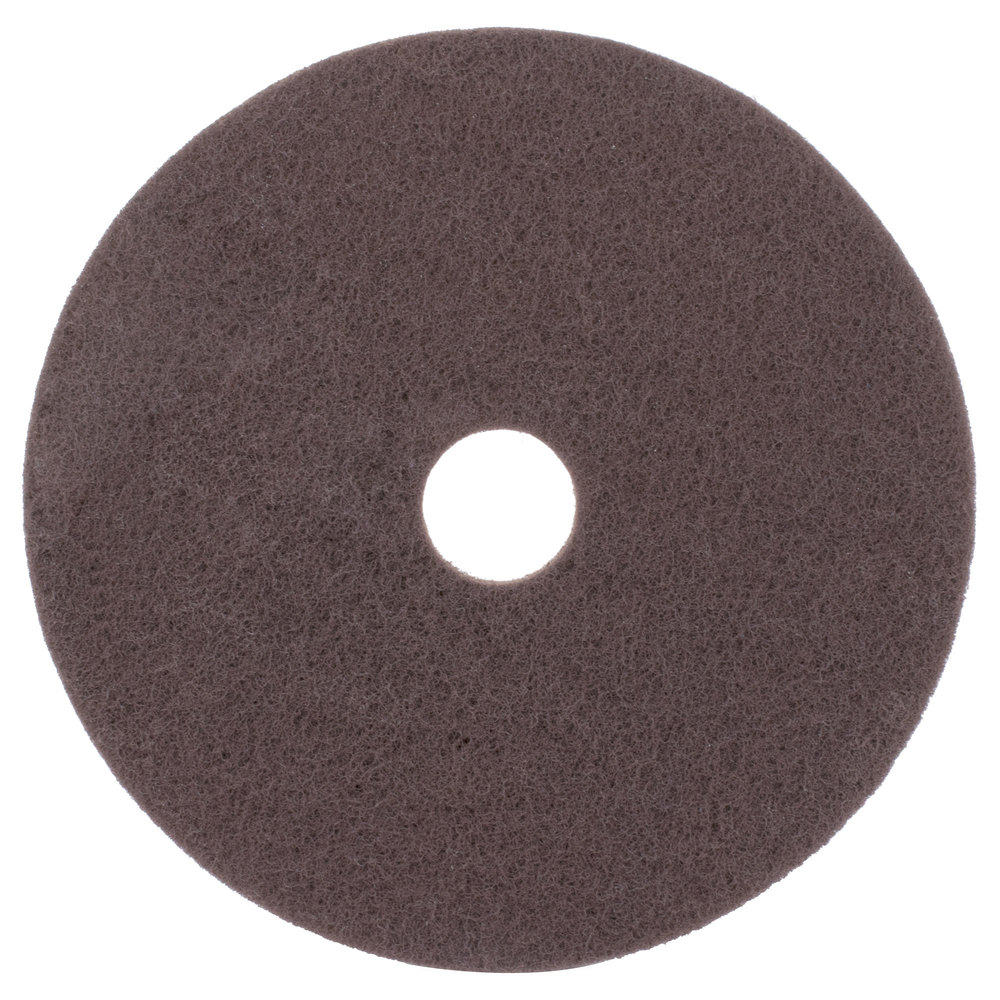 Scrubble by ACS 7120 20 Brown Stripping Floor Pad  Type 71  5Case