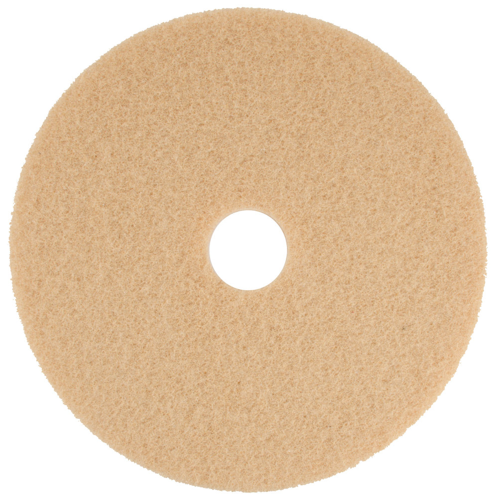 Scrubble by ACS 3419 19 Tan Buffing Floor Pad  Type 34