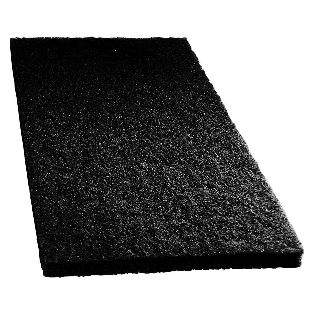 Scrubble by ACS 7214 14 x 20 Black Stripping Floor Pad