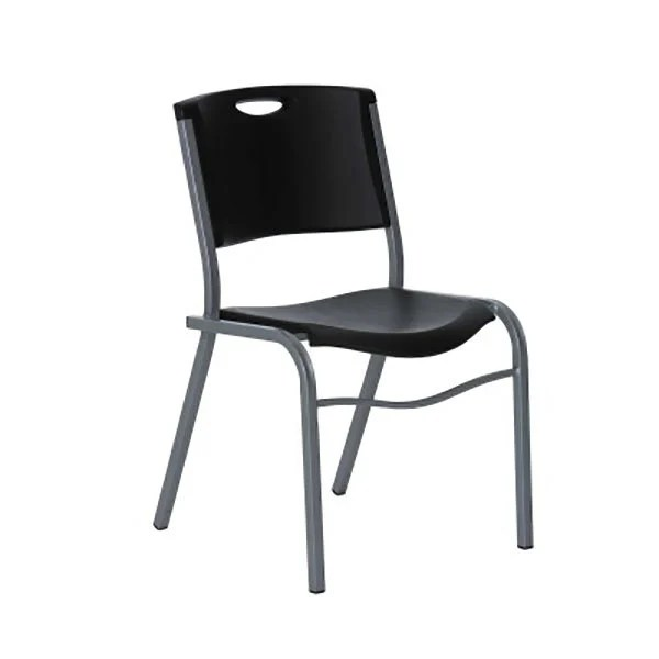 Lifetime 2830 Black Commercial Stacking Chair