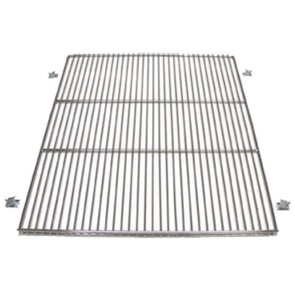 True 919450 Stainless Steel Wire Shelf with Shelf Clips