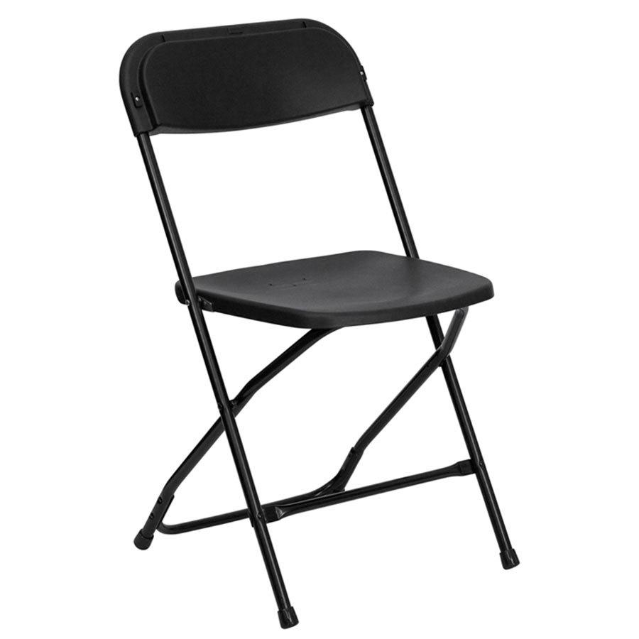 Black Folding Chair