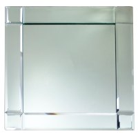 """The Jay Companies 1330052 13"""" x 13"""" Square Deco Glass ..."""