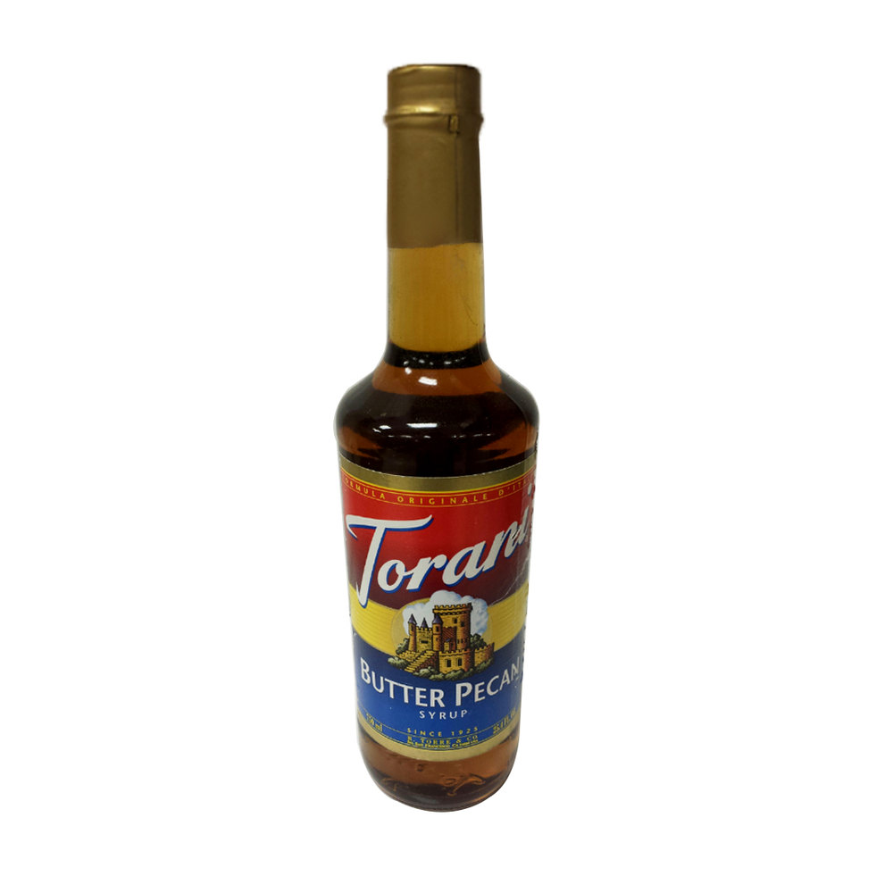 Torani 750 ML Butter Pecan Flavoring Syrup