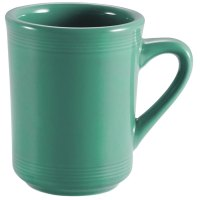CAC TG-17-G Tango 8 oz. Green Mug - 36/Case