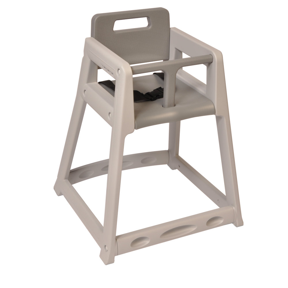 Koala Kare KB85001 Gray Assembled Stackable Plastic High