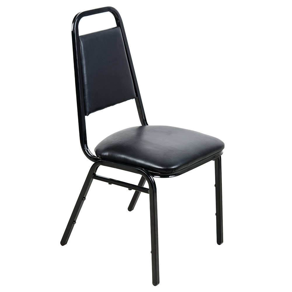 Lancaster Table & Seating Black Stackable Banquet Chair