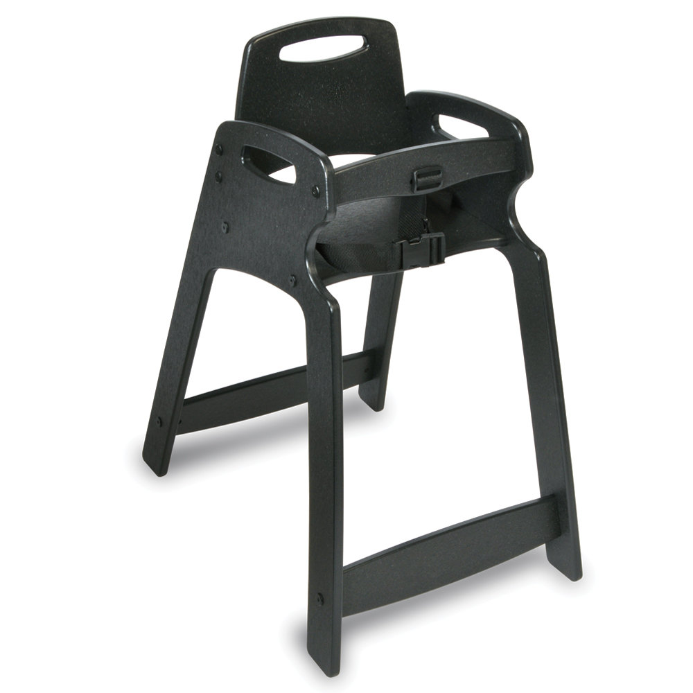 Koala Kare KB83302 Black Assembled Recycled Plastic High