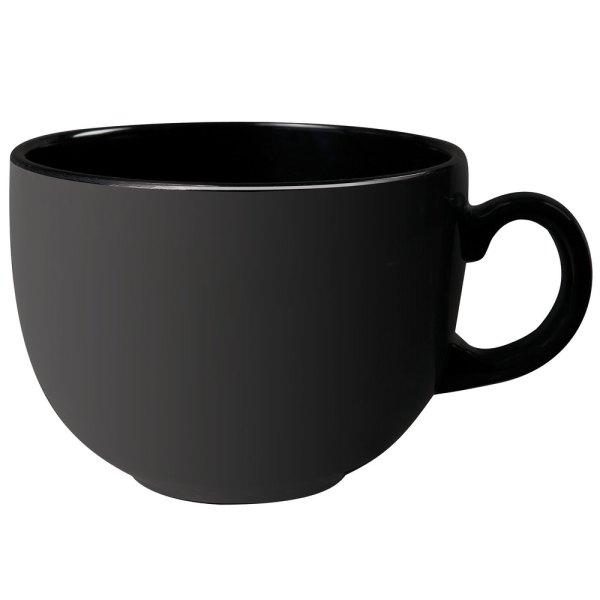 1001-bk Black Elegance 18 Oz. Mug - 12 Case