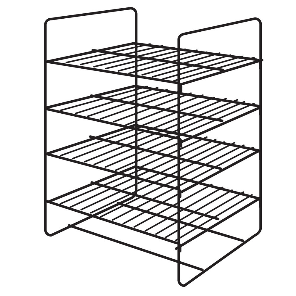 Hatco FDW4SMP 4 Shelf General Purpose Rack for Heated
