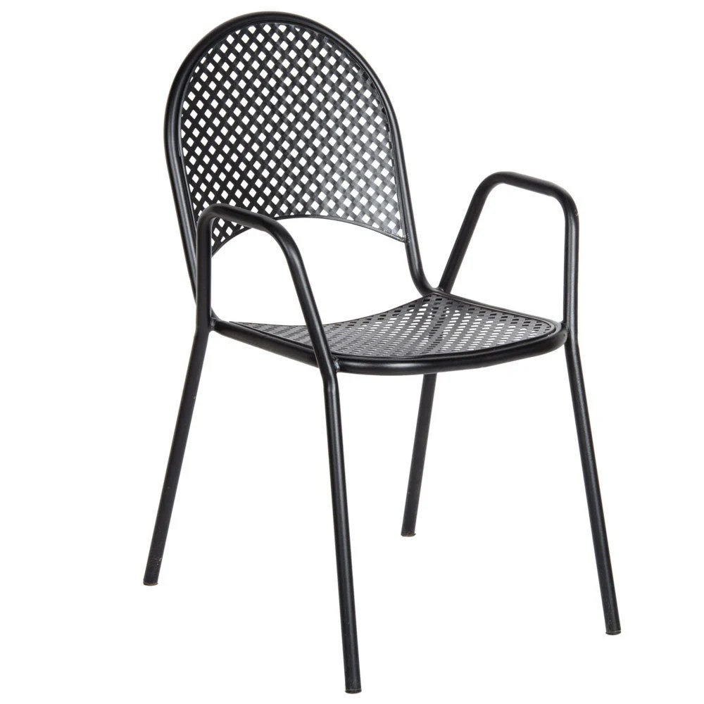 american tables and seating b metal black outdoor chair