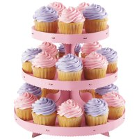 Wilton 1512-0884 3-Tier Disposable Cupcake Display Stand ...