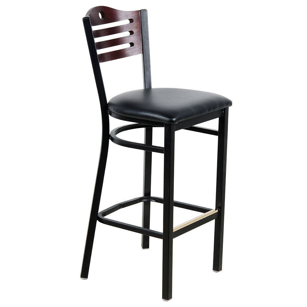 Lancaster Table & Seating Mahogany Finish Bar Height