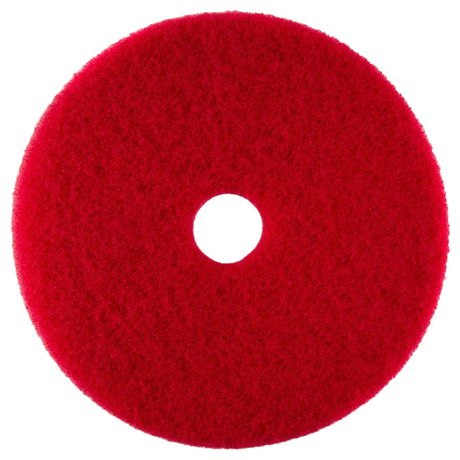 20 Red Buffing Floor Pad