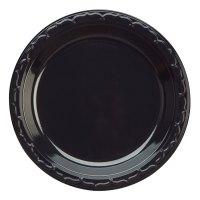"Genpak BLK06 6"" Silhouette Heavy Weight Black Plastic ..."