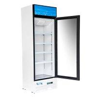 """Avantco GDC23 28"""" Swing Glass Door White Merchandiser ..."""