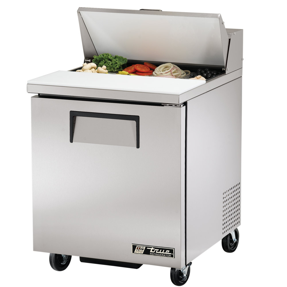 True TSSU278 27 1 Door Refrigerated Sandwich Prep Table