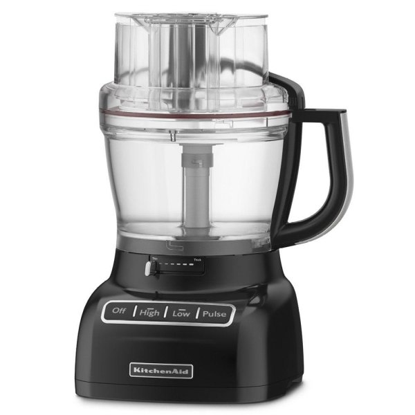 Kitchenaid Kfp1333ob Onyx Black 13 Cup Food Processor With Exactslice System