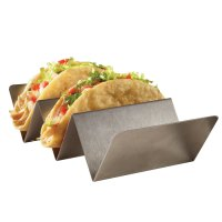 American Metalcraft TSH3 Stainless Steel Taco Holder with