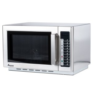 Amana RCS10TS Stackable Commercial Microwave with Push